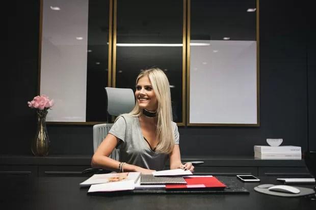 O novo escritrio da blogueira Lala Rudge  Casa Vogue