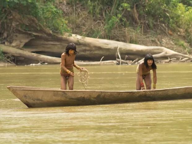 índios (Foto: Thiago Jock)