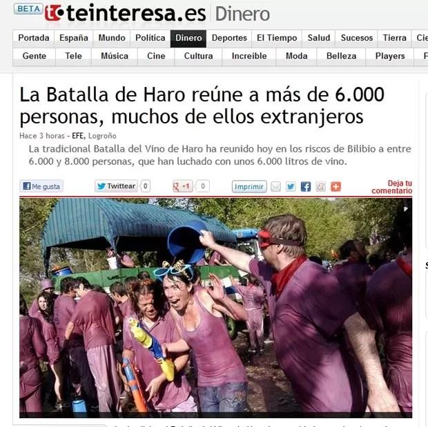Entre 6 mil e 8 mil pessoas participaram da 'batalha'. (Foto: Reprodução)