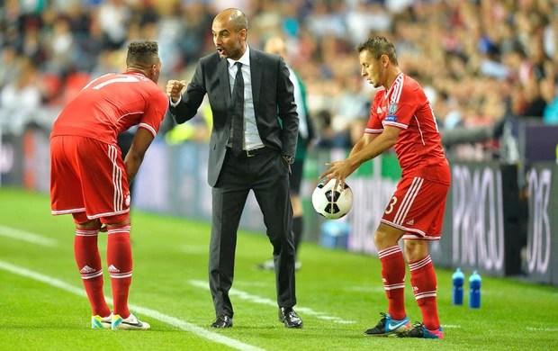 Guardiola Bayern de Munique e Chelsea (Foto: Agência AFP)