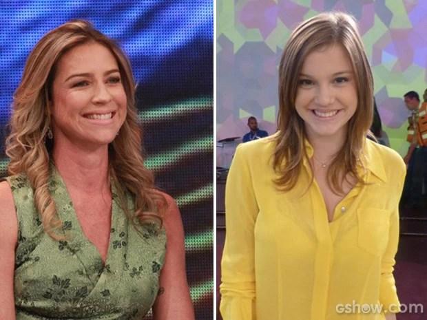 Luana Piovani e Alice Wegmann vão participar de bate-papo no Encontro (Foto: Encontro com Fátima Bernardes/TV Globo)