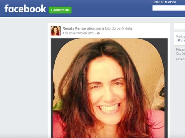 Renata Ferrão era casada com João Ferrão (Foto: Reprodução/Arquivo Pessoal/Facebook)