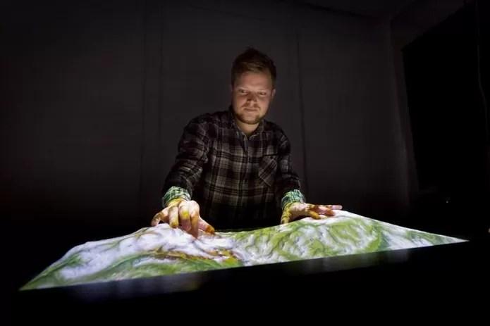 Tecnologia pode ser usada para criar mapas em 3D real (Foto: Divulgação/Esben Warming Pedersen)