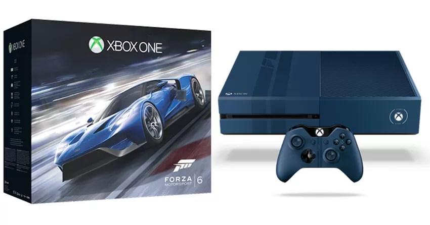 Xbox One Ter Nova Verso Limitada Azul De 1TB Com Forza Motorsport 6 Notcias TechTudo