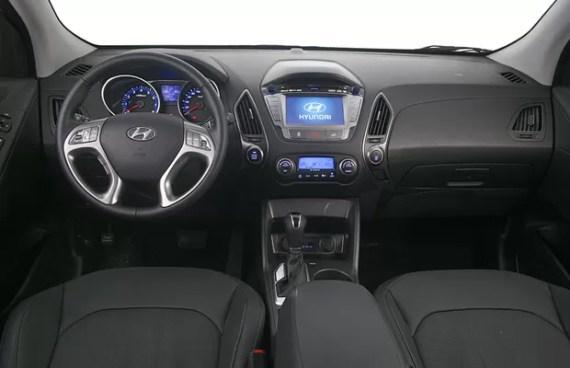 Novo IX35 2016 interior
