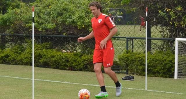 Lugano treina com bola no São Paulo (Foto:  Felipe Espindola / www.saopaulofc.net)