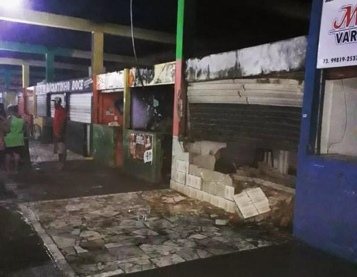 Caso ocorreu na madrugada deste sábado — Foto: Site Bahia Dia a Dia