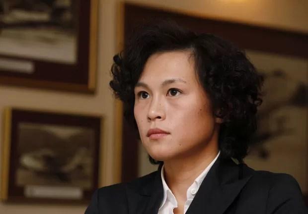 Gigi Chao, de 33 anos, teria se casado com sua namorada há sete anos, Sean Yeung. (Foto: Kin Cheung/AP)
