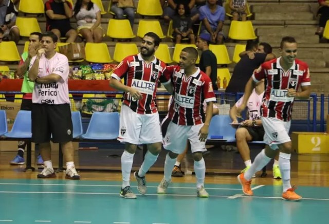 São Paulo Jaraguá Liga Nacional de Futsal (Foto: Yuri Gomes/Divulgação)