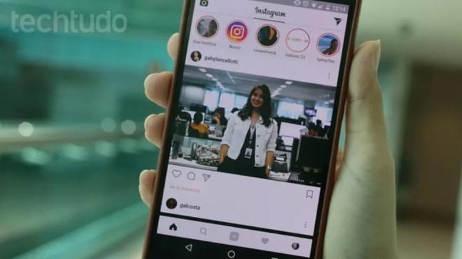 O tipo de conteúdo não influencia na frequência em que el é exibido no feed — Foto: (Foto: Carolina Ochsendorf/ TechTudo