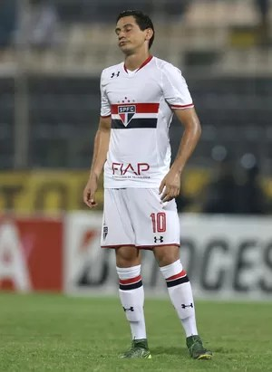 Ganso; Trujillanos x São Paulo; Libertadores (Foto: AP)