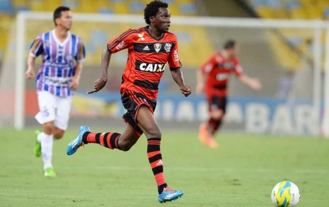 Negueba é da base do Flamengo e hoje joga no Incheon United, da Coreia do Sul — Foto: Alexandre Vidal / Flaimagem