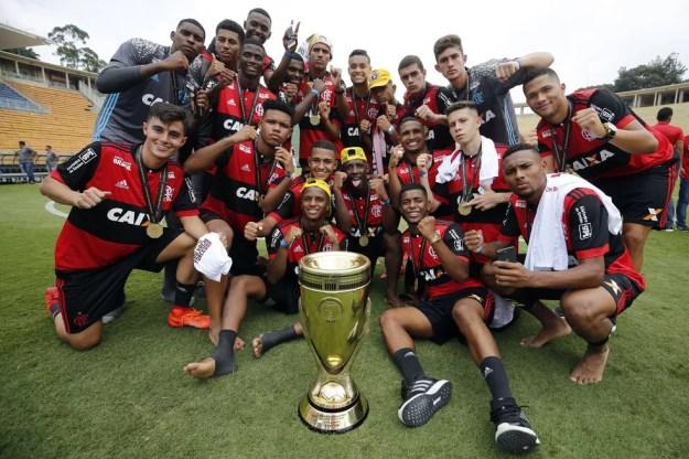 O Flamengo é o atual campeão da Copinha  — Foto: Divulgação/Flamengo