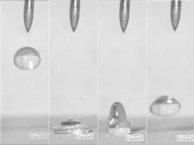 Cientistas descobrem revestimento que repele líquidos (Foto: Reprodução/ University of Michigan )