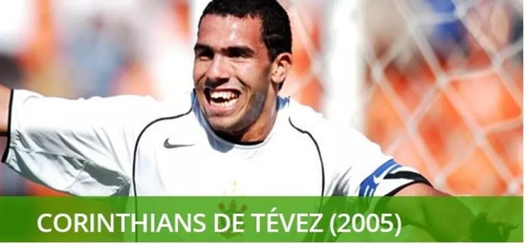 Melhores times do século - Corinthians de 2005 — Foto: Info esporte