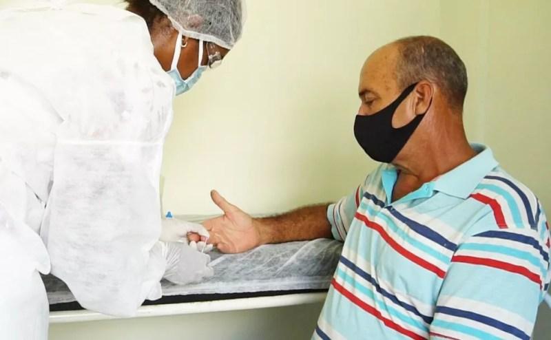 Prefeitura de Itaperuna, RJ, inicia testagem da Covid-19 em Unidades Básicas de Saúde — Foto: Divulgação/Prefeitura de Itaperuna
