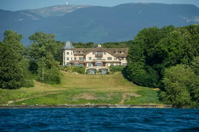 Casa de Michael Schumacher e família em Gland, às margens de lago na Suíça (Foto: Getty Images)