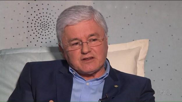 Valdir Rossoni foi secretário da Casa Civil do Paraná e deputado estadual e federal — Foto: Reprodução/RPC