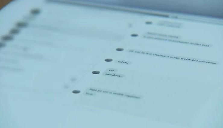 Investigações começaram há duas semanas depois que a mãe encontrou mensagens do suspeito no celular do filho, de 13 anos (Foto: TV TEM/Reprodução )