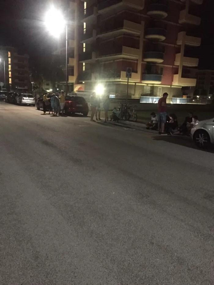 Ana Paula Evangelista passa susto com terremoto na Itália (Foto: Arquivo Pessoal)