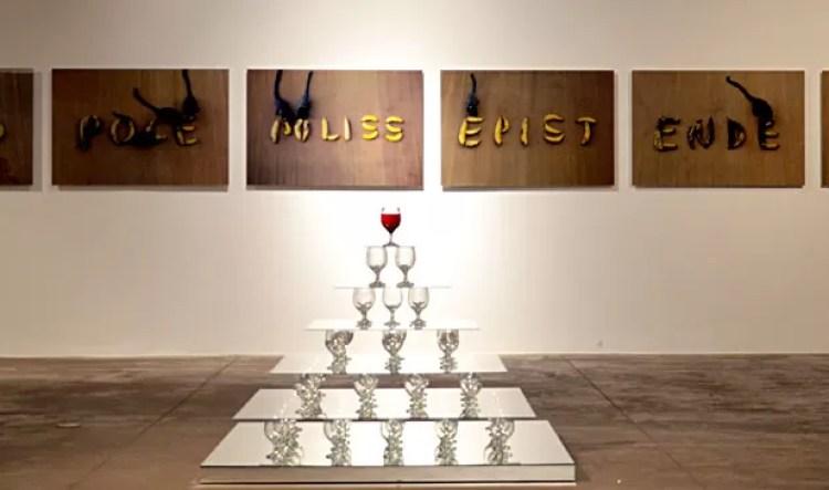 Instalação do artista Wagner Barja, que pode ser vista em exposição no CCBB de Brasília (Foto: Peninha/Divulgação)