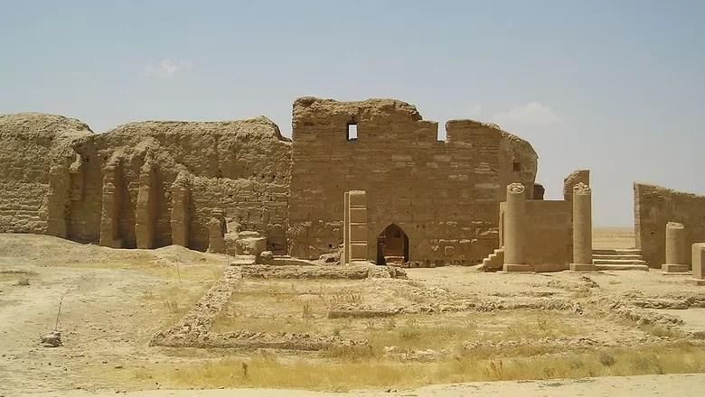 O Templo de Bel, em Dura Europos, foi outro local sagrado destruído pelo ISIS (Foto: Creative Commons/Heretiq)