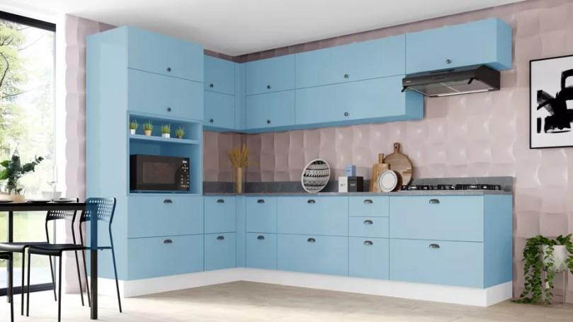 Cores de Decoração para cozinha 2022 Moderna
