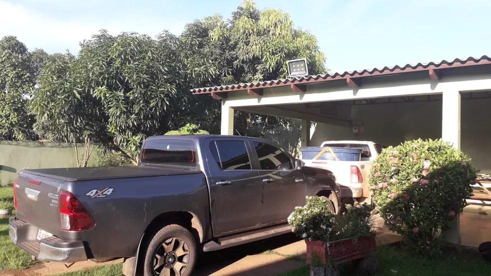 Só em Rio Branco, foram cumpridos 15 mandados de busca  — Foto: Divulgação/PF-AC