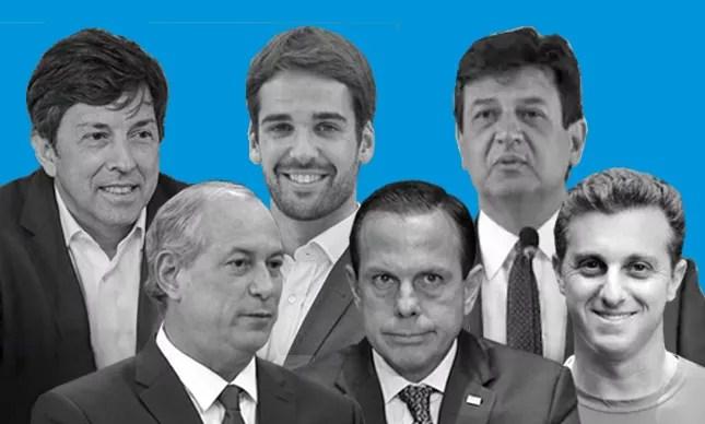 """Amoêdo, Leite, Mandetta, Ciro, Doria e Huck: manifesto """"pela consciência democrática"""""""