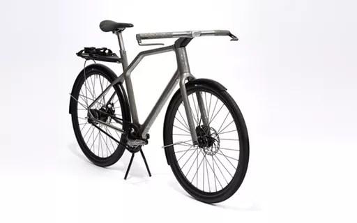 Bicicleta de titânio criada por impressora 3D inova com