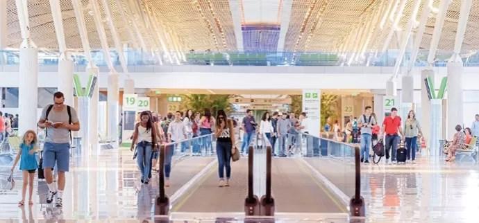 Dilma na Inauguração da obra do Aeroporto de Brasília (Foto: Divulgação)