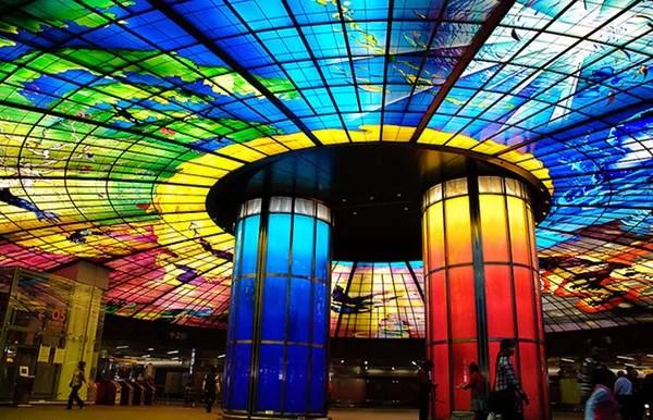 Estação Kaohsiung, Taiwan (Foto: reprodução)