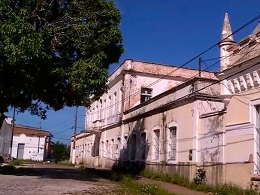 Casa do Estudante do Rio Grande do Norte, em Natal — Foto: Reprodução/Inter TV Cabugi