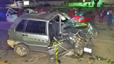 Colisão frontal deixou uma pessoa morta em Sanharó — Foto: PRF/Divulgação