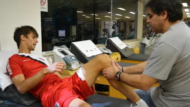 Rodrigo Caio São Paulo (Foto: Site Oficial / saopaulofc.net)