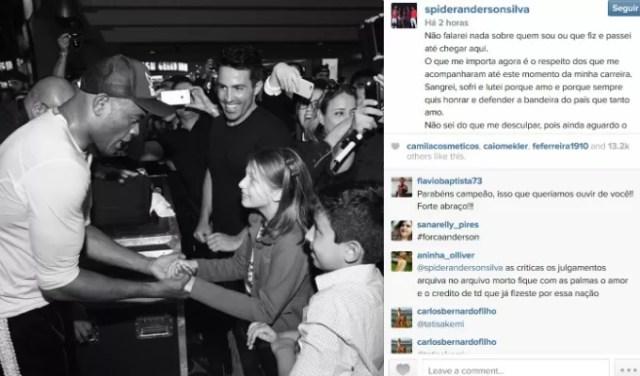 Anderson Silva Instagram