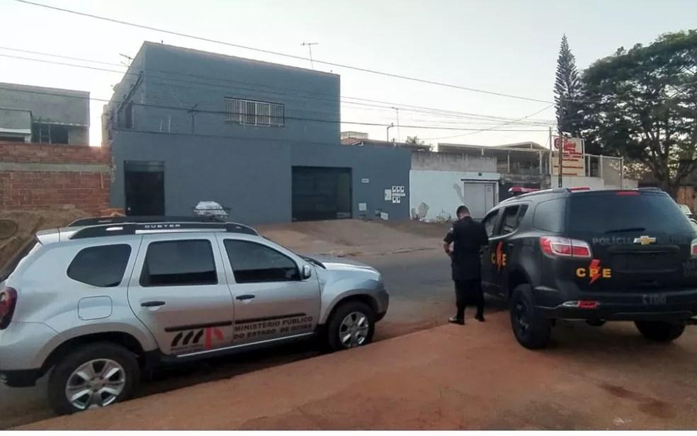 MP deflagra operação que apura fraudes em licitações vinculadas à Comurg, Semas e Sesc, em Goiânia Goiás — Foto: MP/Divulgação