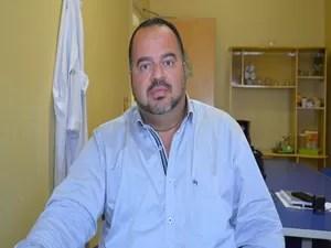Luís Eduardo Prado Correia, superintendente da maternidade (Foto: Tássio Andrade/G1)