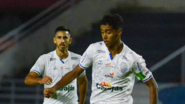 Gabriel diz que resultado contra o Goiás foi injusto — Foto: Augusto Oliveira/CSA