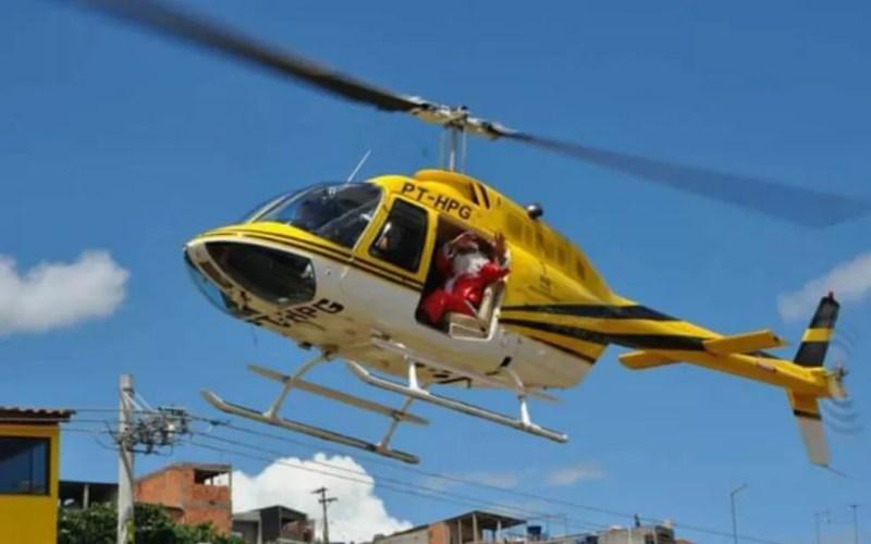 Ronaldo Quattruci pilotou mesmo helicóptero que se acidentou em eventos natalinos de 2009 a 2016 — Foto: Reprodução/Redes sociais