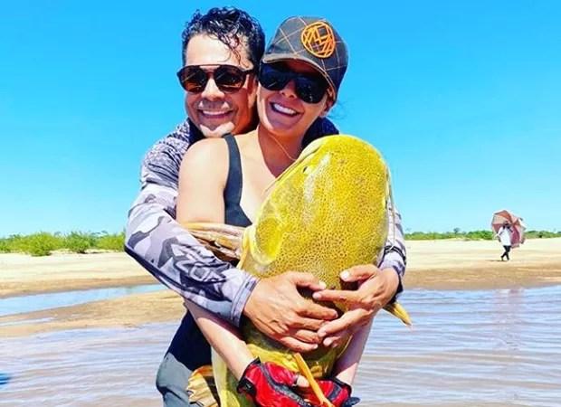 Maraisa e Fabrício Marques (Foto: Reprodução Instagram)