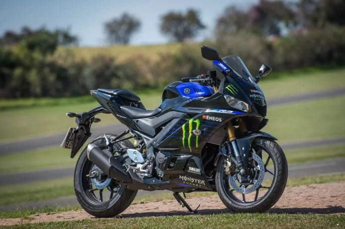 Yamaha YZF-R3 Monster MotoGP Edition é a mais cara da linha — Foto: Divulgação