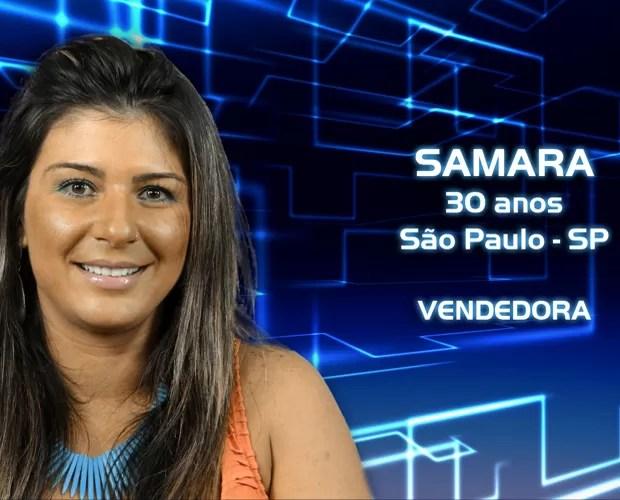 Samara (Foto: Reprodução/TV Globo)