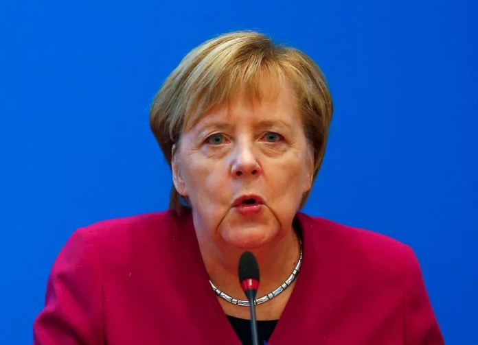 Chanceler alemã, Angela Merkel — Foto: Hannibal Hanschke/ Reuters
