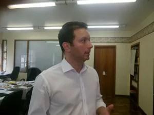 Nelson Marchezan Junior comentou o anúncio de José Fortunati (Foto: Jonas Campos/RBS TV)