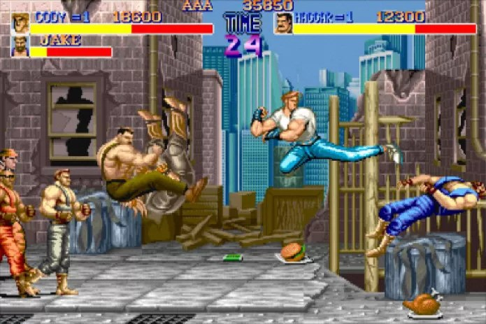 Final Fight ocorre no mesmo universo de street fighter (Foto: Reprodução / thesixthaxis.com)