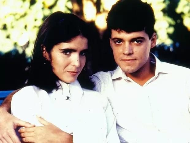 Malu Mader e Felipe Camargo interpretam o casal protagonista (Foto: CEDOC/TV Globo)