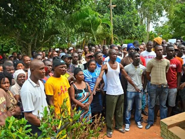 Haitianos Acre (Foto: Quésia Melo/G1)