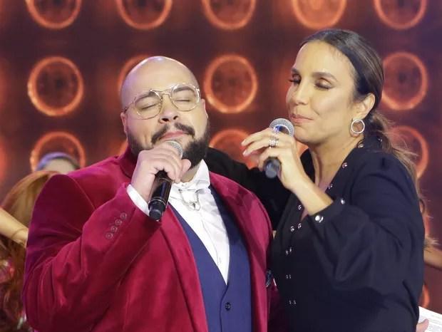 Tiago Abravanel e Ivete Sangalo estão confirmados no Teleton 2020 (Foto: Divulgação/SBT)
