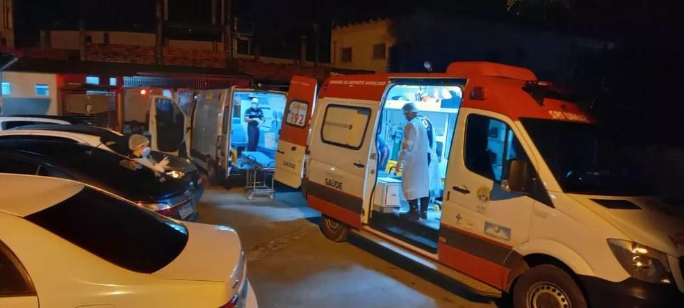 Samu faz mutirão de transferência para abrir vagas no AC — Foto: Augusto Aiache/Arquivo pessoal